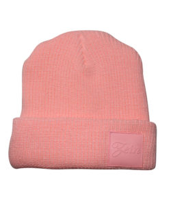 Zein Light Pink Beanie Front
